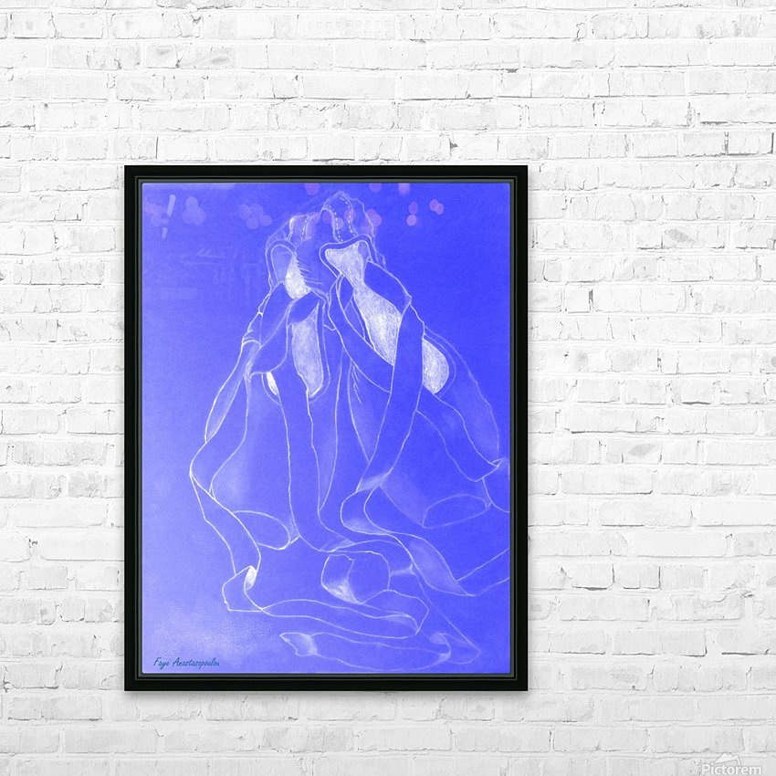 Celestial Pointe Shoes HD Sublimation Metal print with Decorating Float Frame (BOX)