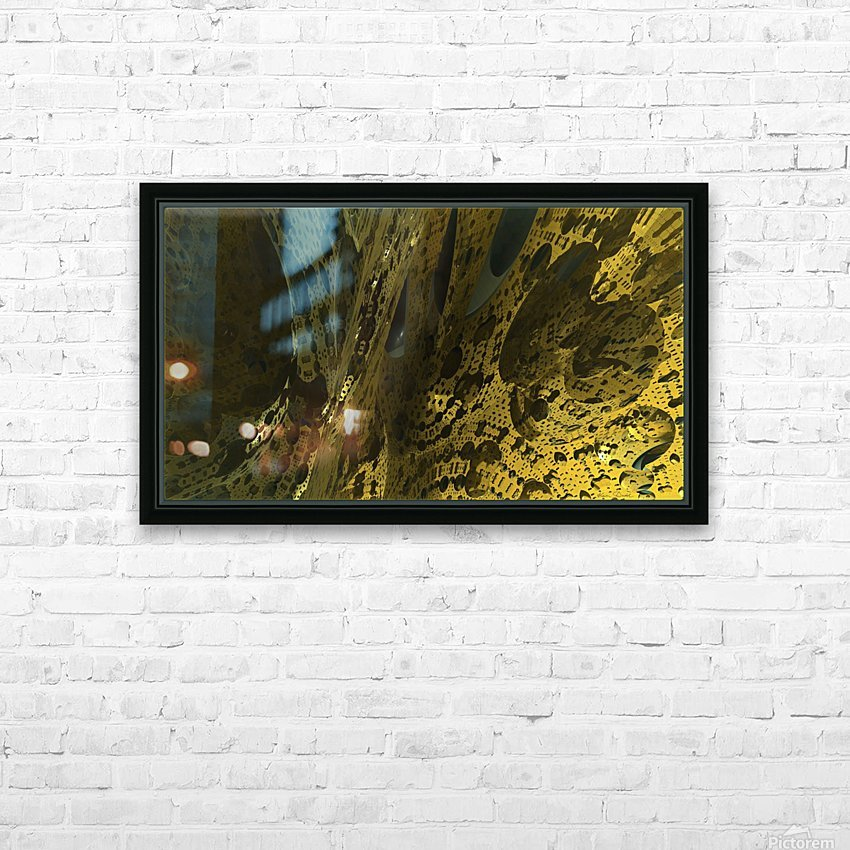 New World HD Sublimation Metal print with Decorating Float Frame (BOX)