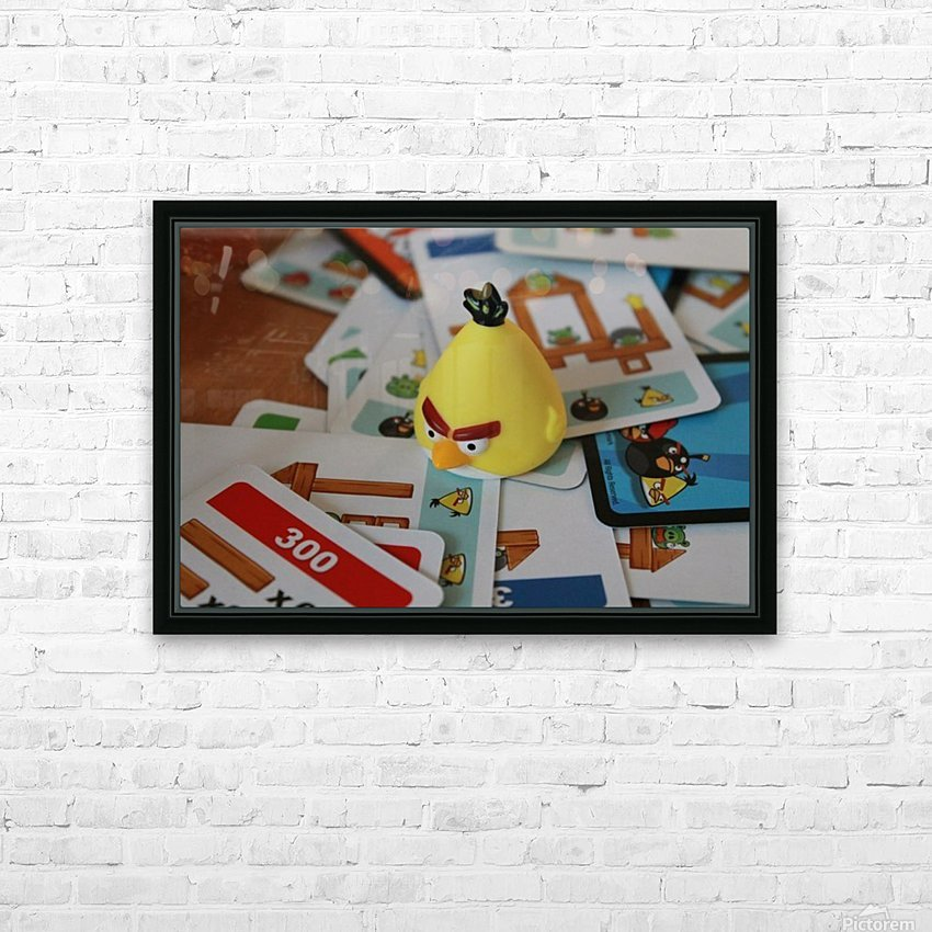 Angry Birds In Action Game Giclee Canvas Picture Art