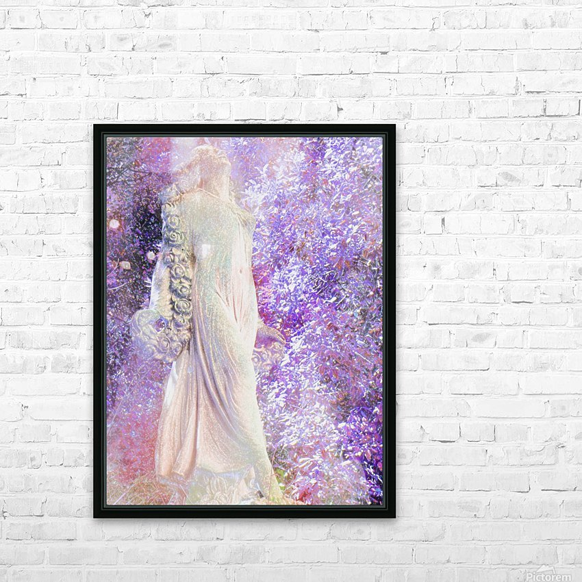 An Angel Awaits HD Sublimation Metal print with Decorating Float Frame (BOX)