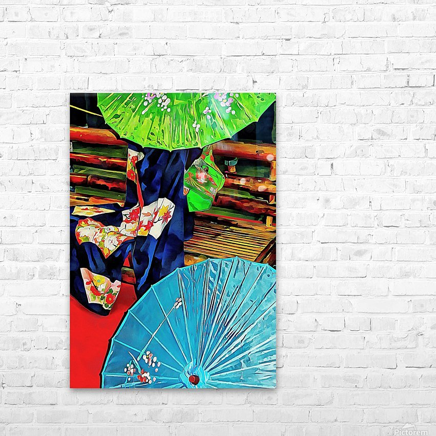 A Touch of Japan HD Sublimation Metal print with Decorating Float Frame (BOX)
