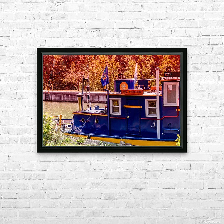 Lock 33 5 HD Sublimation Metal print with Decorating Float Frame (BOX)