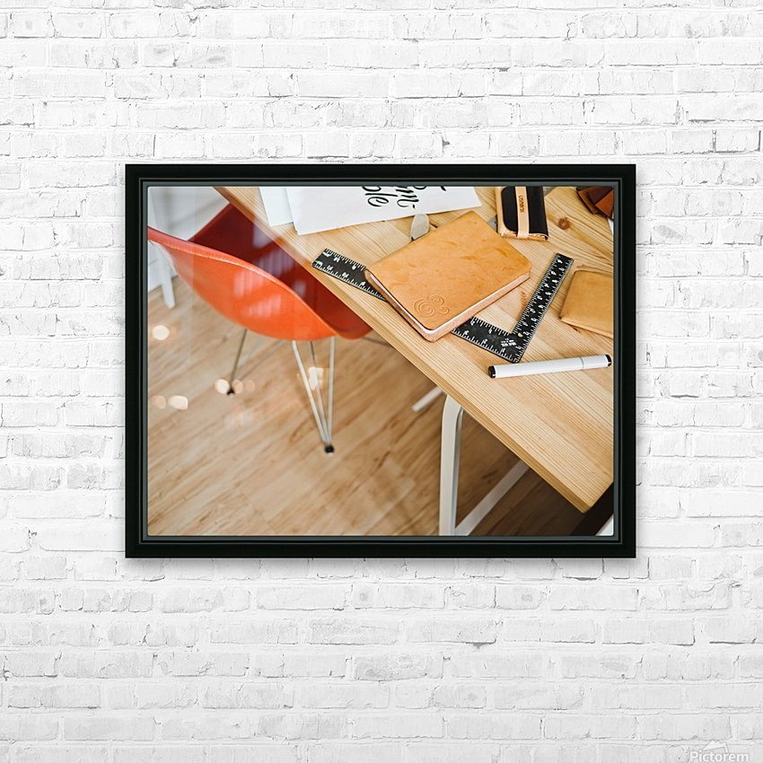 Coursework HD Sublimation Metal print with Decorating Float Frame (BOX)