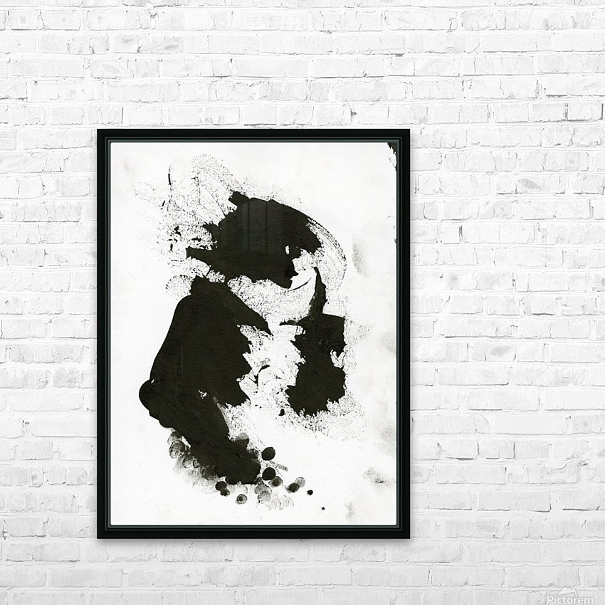 Rock God HD Sublimation Metal print with Decorating Float Frame (BOX)