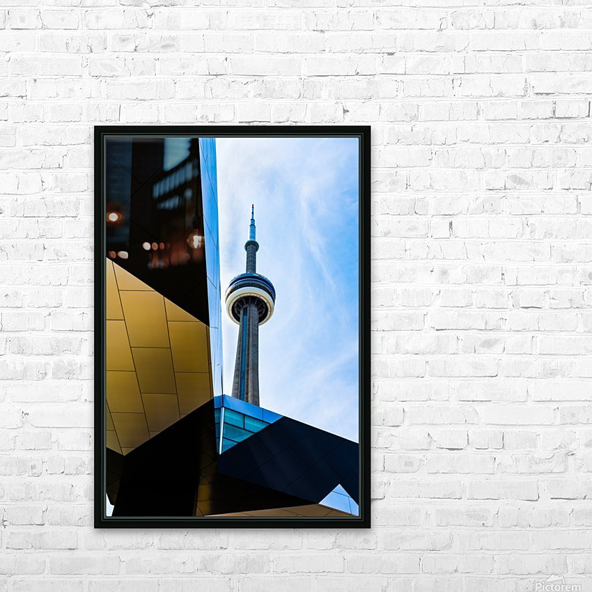 A tower in the sky HD Sublimation Metal print with Decorating Float Frame (BOX)