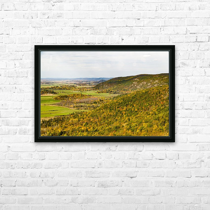View of Ottawa Valley in Autumn 20 HD Sublimation Metal print with Decorating Float Frame (BOX)