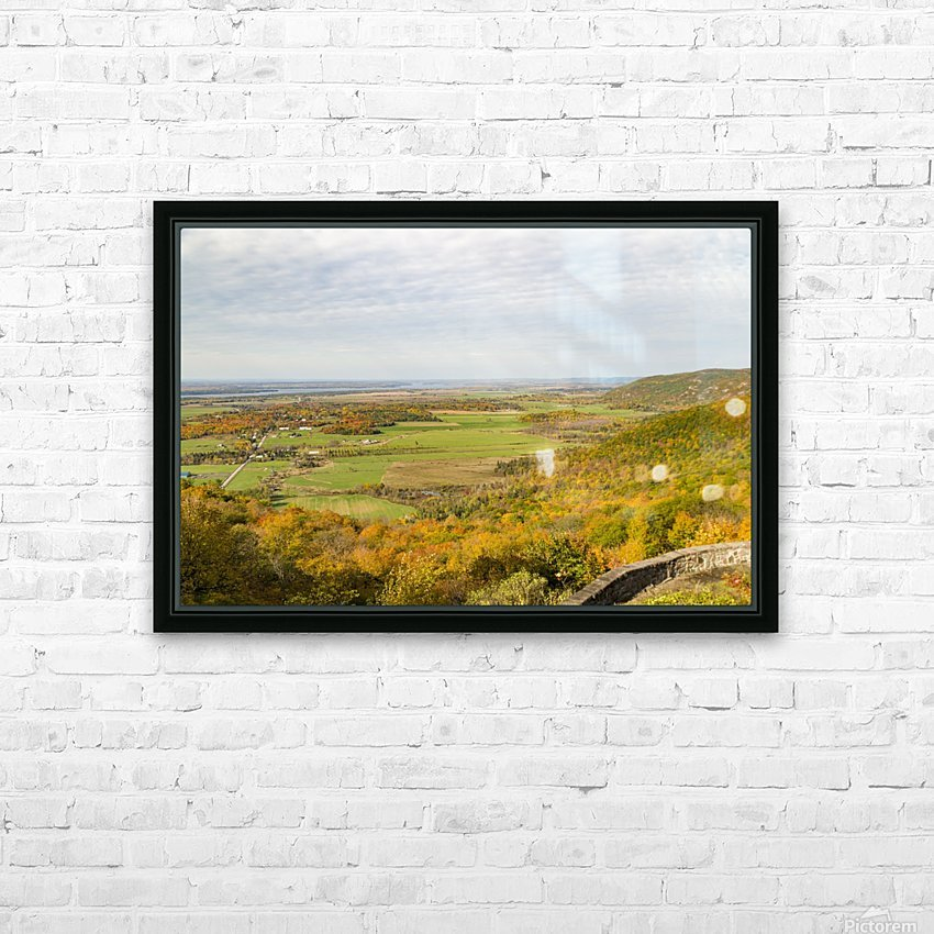 View of Ottawa Valley in Autumn 9 HD Sublimation Metal print with Decorating Float Frame (BOX)