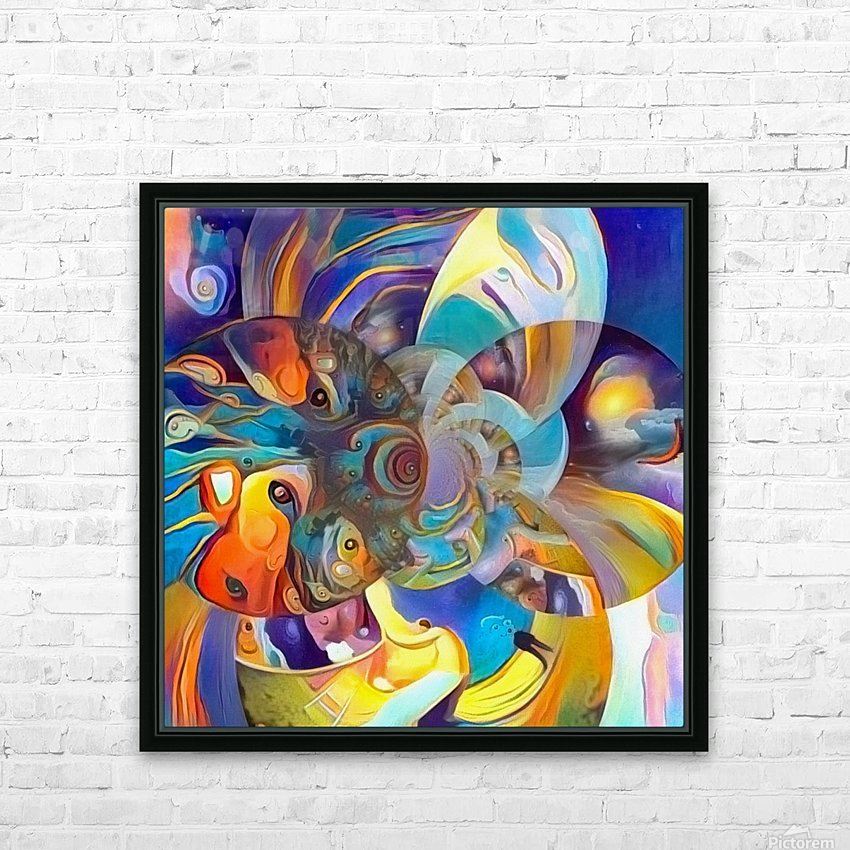 Vivid Illusion HD Sublimation Metal print with Decorating Float Frame (BOX)
