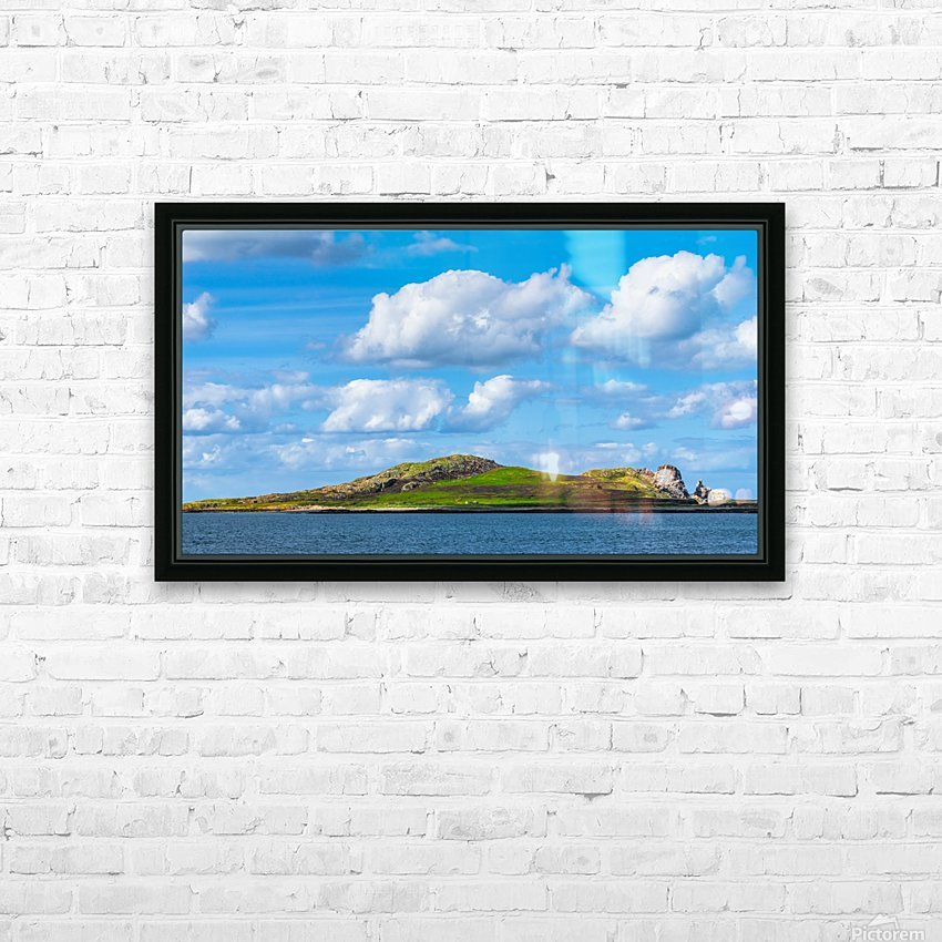 HOWTH 02 HD Sublimation Metal print with Decorating Float Frame (BOX)