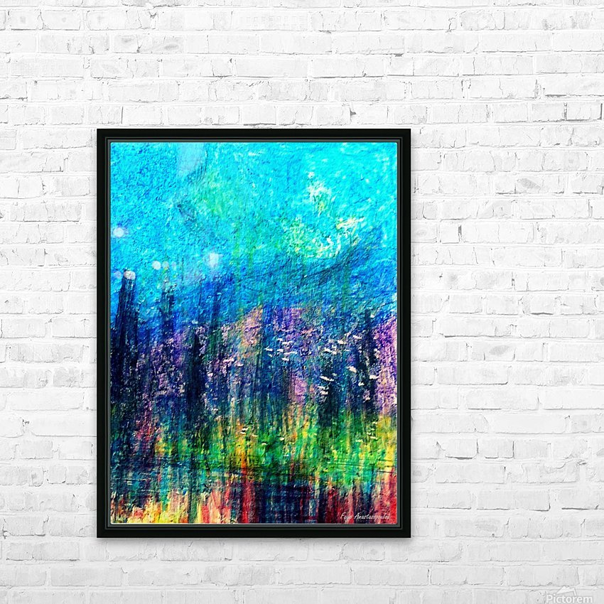 Luminous Night HD Sublimation Metal print with Decorating Float Frame (BOX)