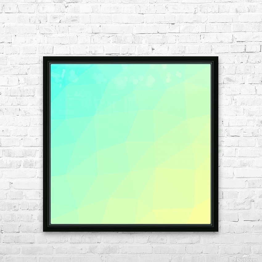 Abstract art (29) HD Sublimation Metal print with Decorating Float Frame (BOX)