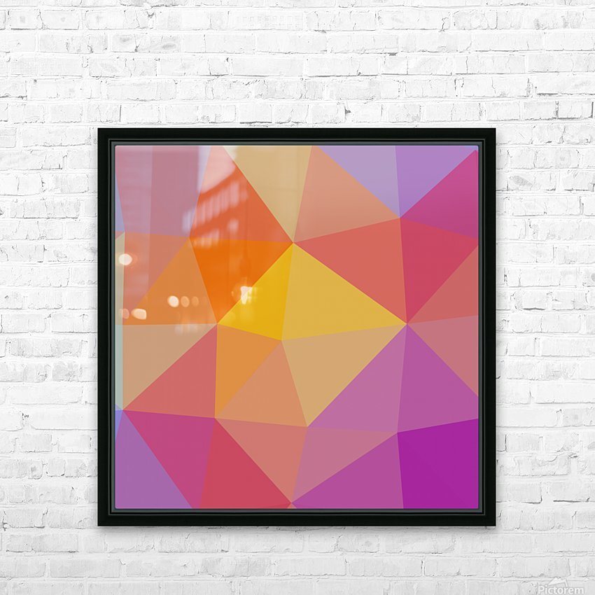 Abstract art (10) HD Sublimation Metal print with Decorating Float Frame (BOX)