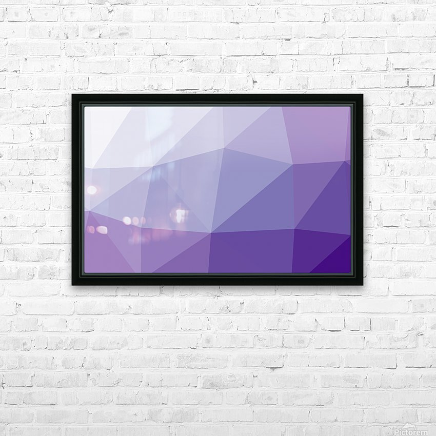 patterns polygon 3D (3)_1557106641 HD Sublimation Metal print with Decorating Float Frame (BOX)