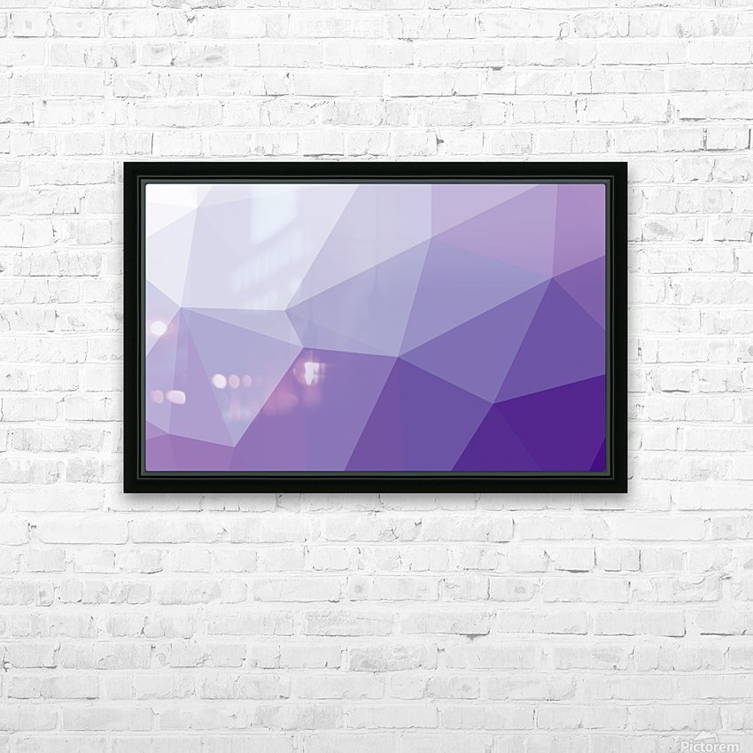 patterns polygon 3D (44)_1557106654.03 HD Sublimation Metal print with Decorating Float Frame (BOX)