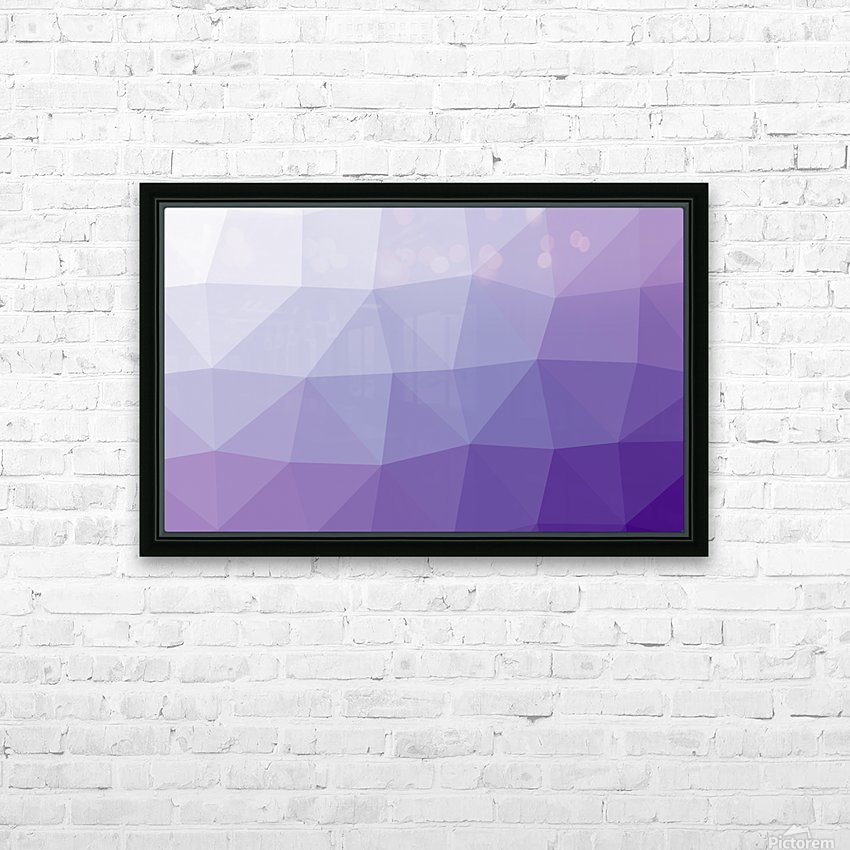 patterns Abstract art (2) HD Sublimation Metal print with Decorating Float Frame (BOX)