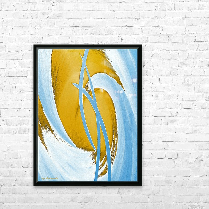 Energy Flow HD Sublimation Metal print with Decorating Float Frame (BOX)