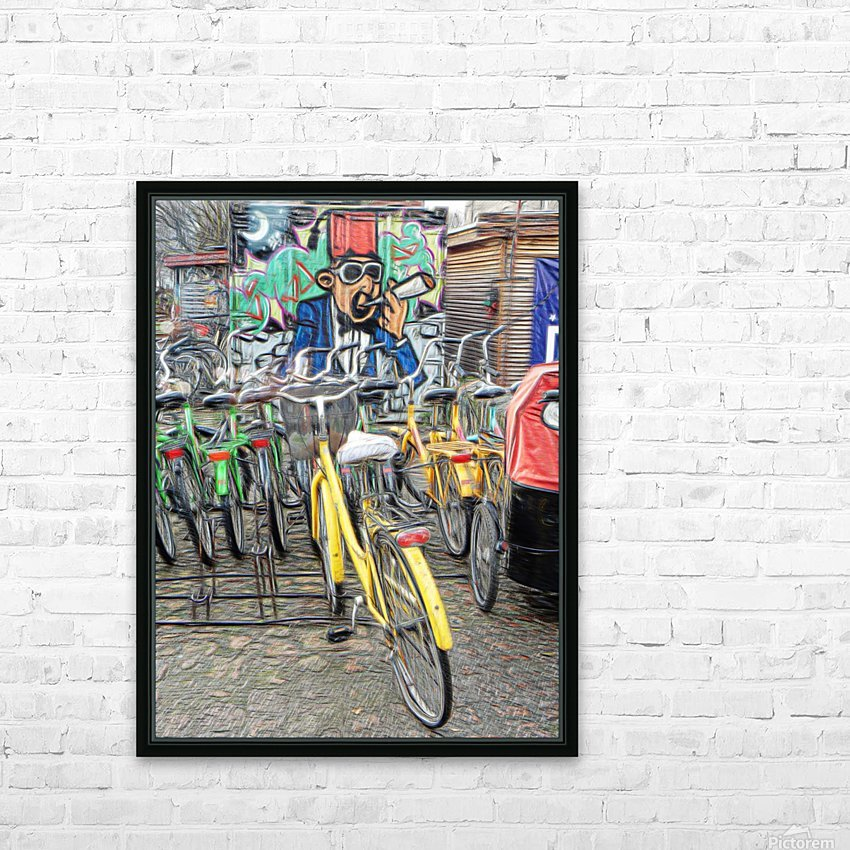 Do Not Cycle Under the Influence HD Sublimation Metal print with Decorating Float Frame (BOX)