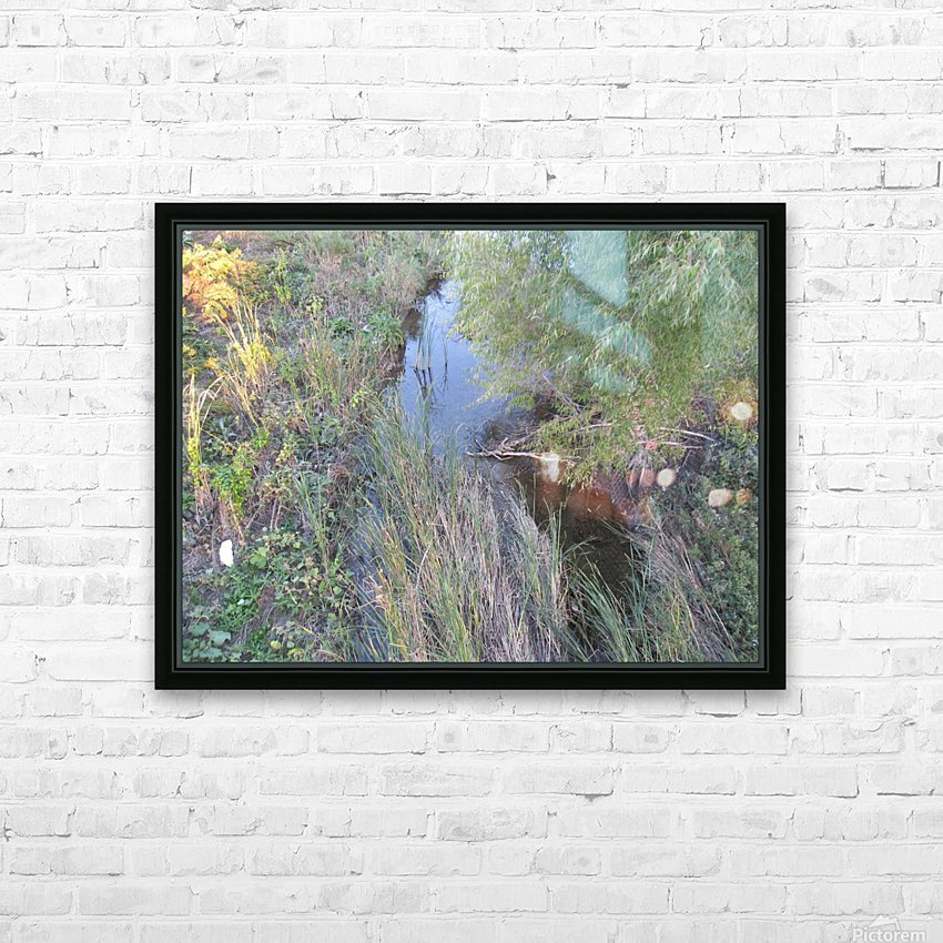 Landscape Photograph (36) HD Sublimation Metal print with Decorating Float Frame (BOX)