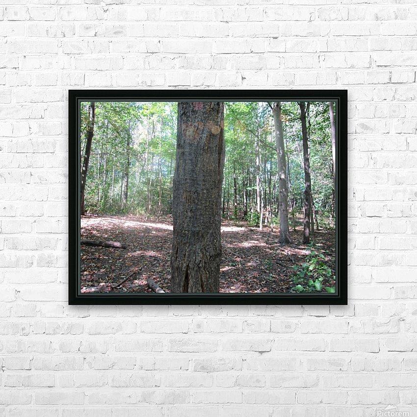 Landscape (166) HD Sublimation Metal print with Decorating Float Frame (BOX)