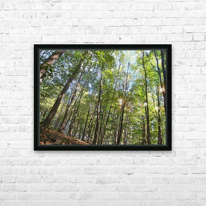 Landscape (249) HD Sublimation Metal print with Decorating Float Frame (BOX)