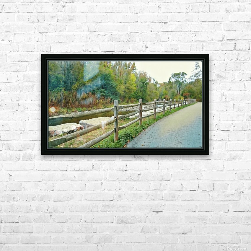 Original Landscape Painting No. 13 from The Billy Truong Art Collection HD Sublimation Metal print with Decorating Float Frame (BOX)