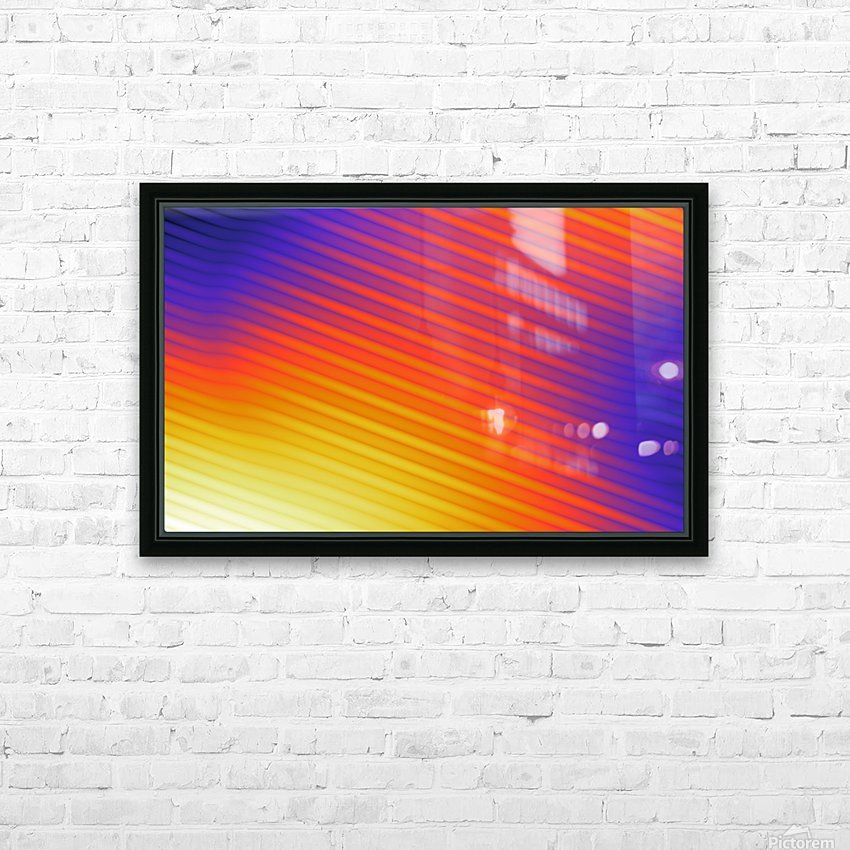 patterns shapes cool fun design (3) HD Sublimation Metal print with Decorating Float Frame (BOX)