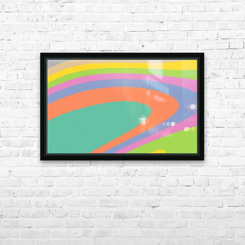 New Popular Beautiful Patterns Cool Design Best Abstract Art (18) HD Sublimation Metal print with Decorating Float Frame (BOX)