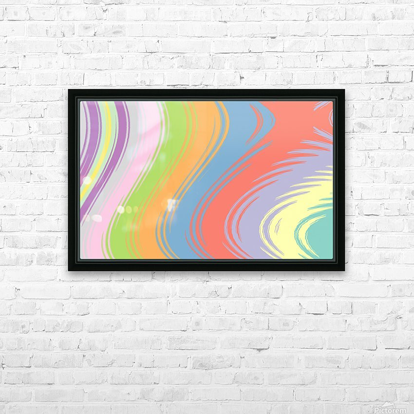 New Popular Beautiful Patterns Cool Design Best Abstract Art (77) HD Sublimation Metal print with Decorating Float Frame (BOX)