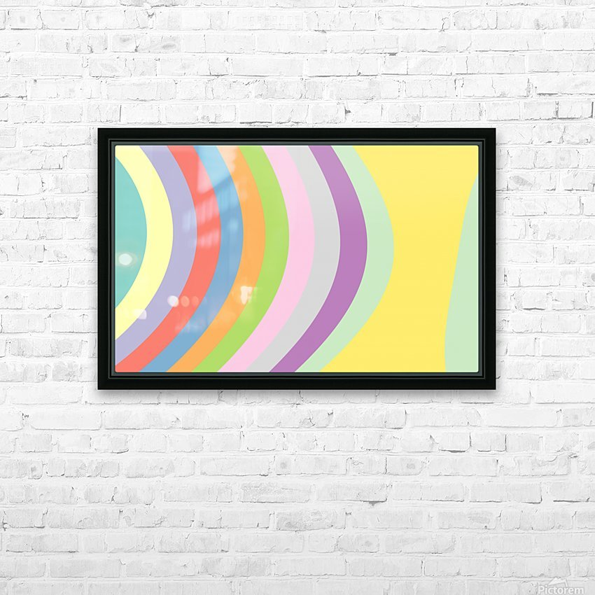 New Popular Beautiful Patterns Cool Design Best Abstract Art (93) HD Sublimation Metal print with Decorating Float Frame (BOX)
