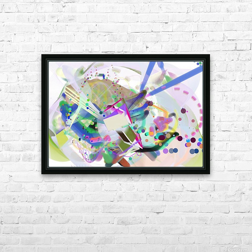 New Popular Beautiful Patterns Cool Design Best Abstract Art (4) HD Sublimation Metal print with Decorating Float Frame (BOX)