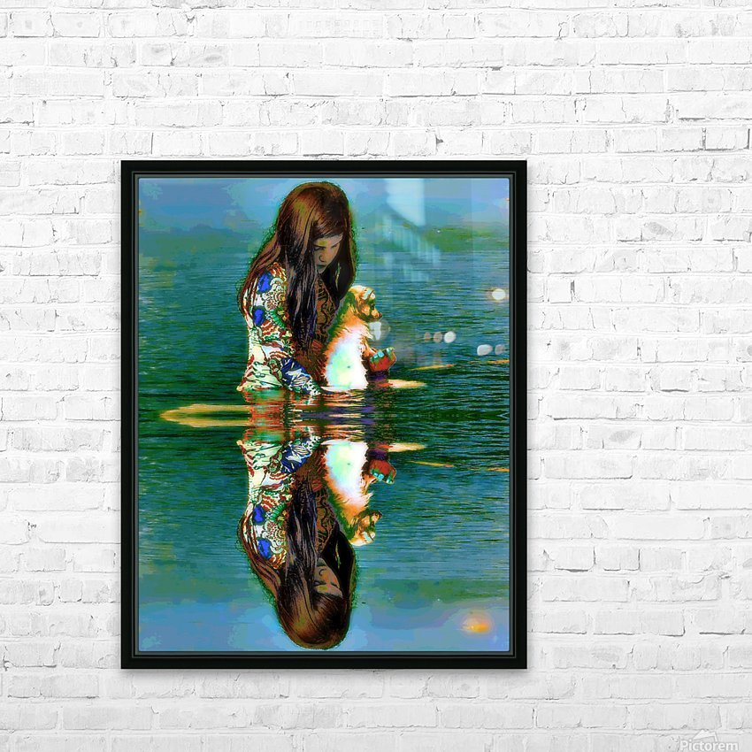 Deep Thoughts HD Sublimation Metal print with Decorating Float Frame (BOX)