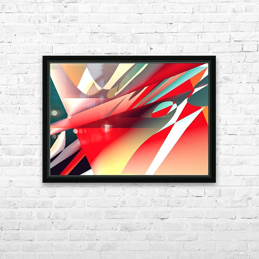 ambition 0512a1219 HD Sublimation Metal print with Decorating Float Frame (BOX)