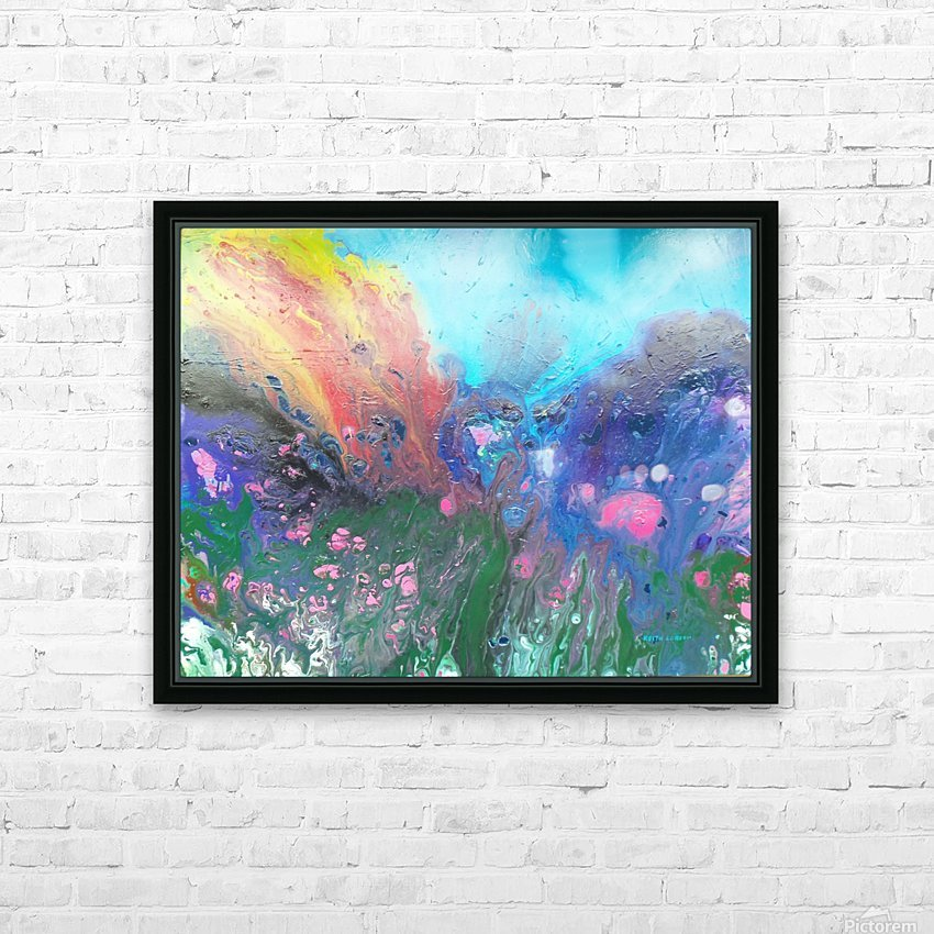 Magma  HD Sublimation Metal print with Decorating Float Frame (BOX)