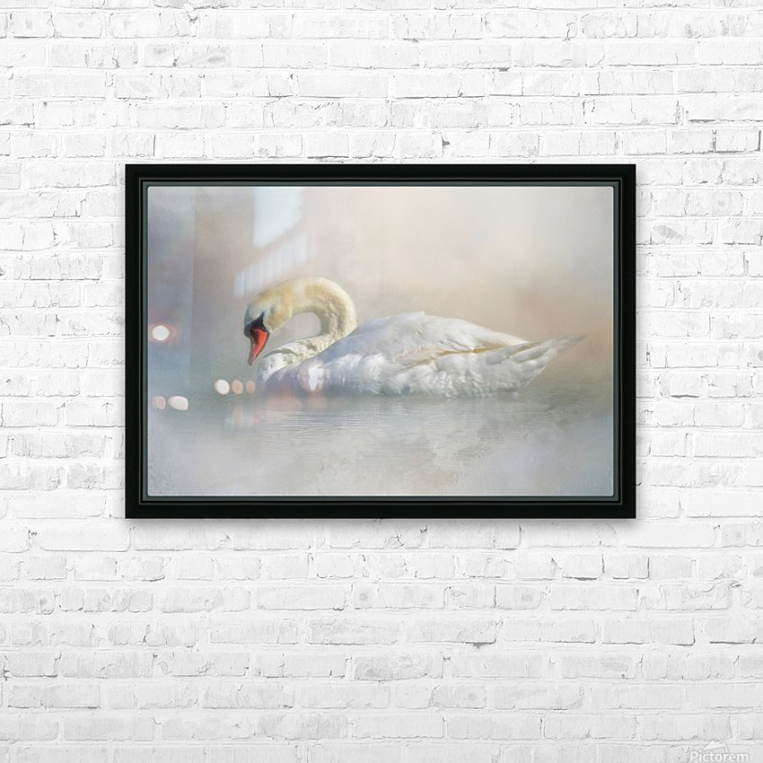 Out Of The Mist HD Sublimation Metal print with Decorating Float Frame (BOX)