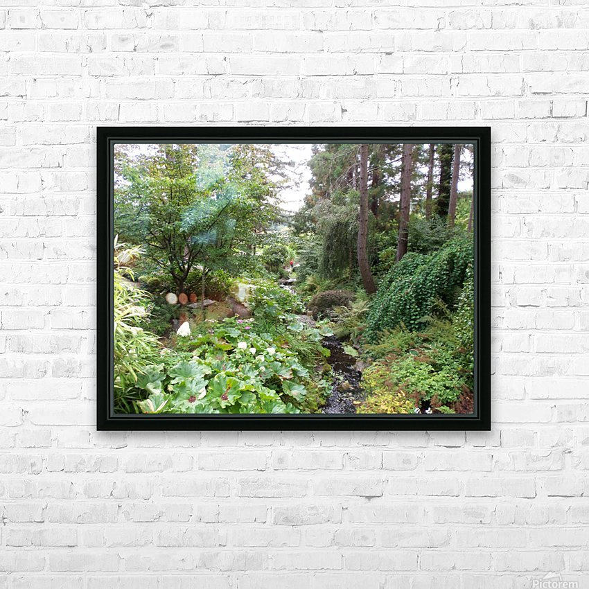 Glendale Gardens Victoria BC HD Sublimation Metal print with Decorating Float Frame (BOX)