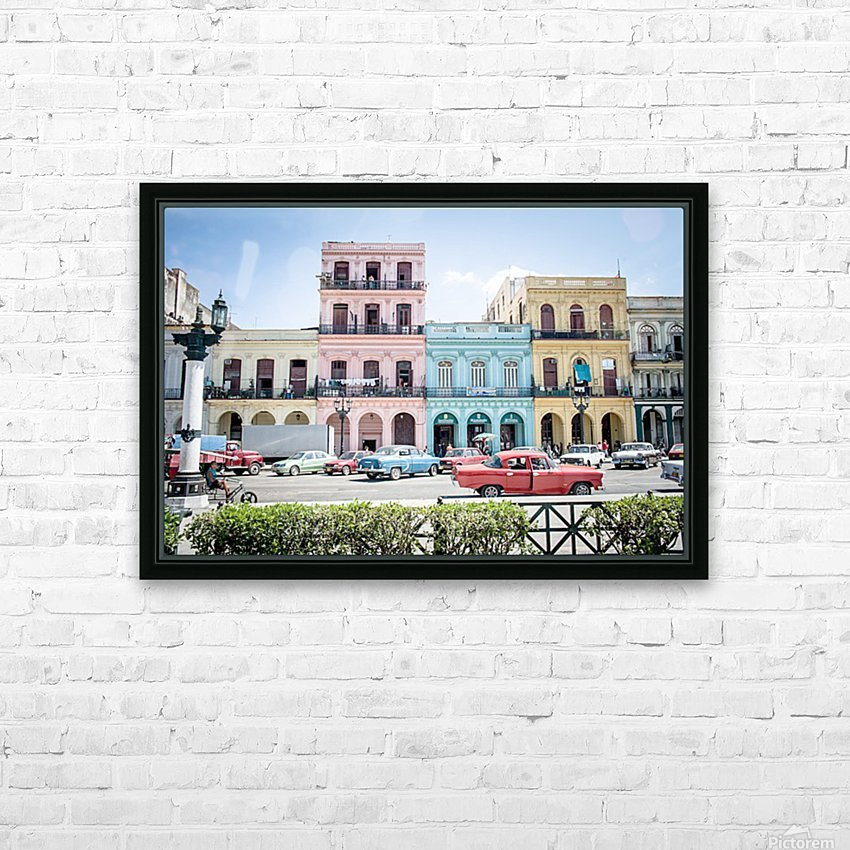 Cuba HD Sublimation Metal print with Decorating Float Frame (BOX)