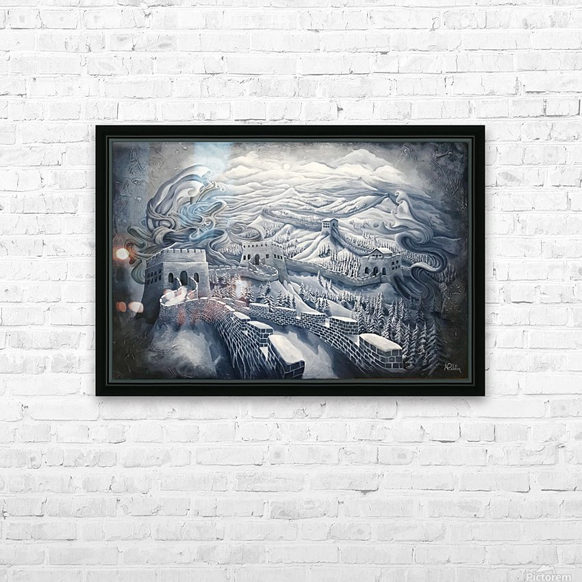 The first season of the Great Wall HD Sublimation Metal print with Decorating Float Frame (BOX)
