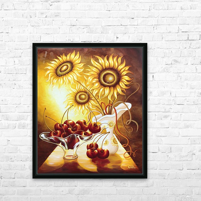 You are so sweet HD Sublimation Metal print with Decorating Float Frame (BOX)