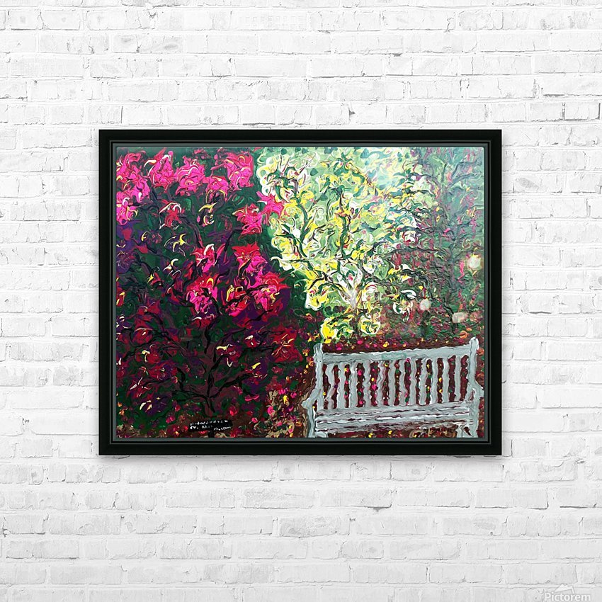 Glendale Gardens Victoria BC-Rodos HD Sublimation Metal print with Decorating Float Frame (BOX)