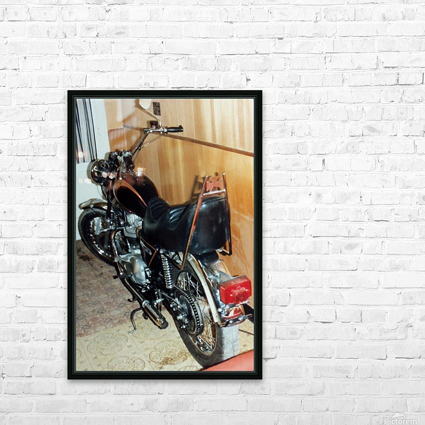 Triumph Tiger HD Sublimation Metal print with Decorating Float Frame (BOX)