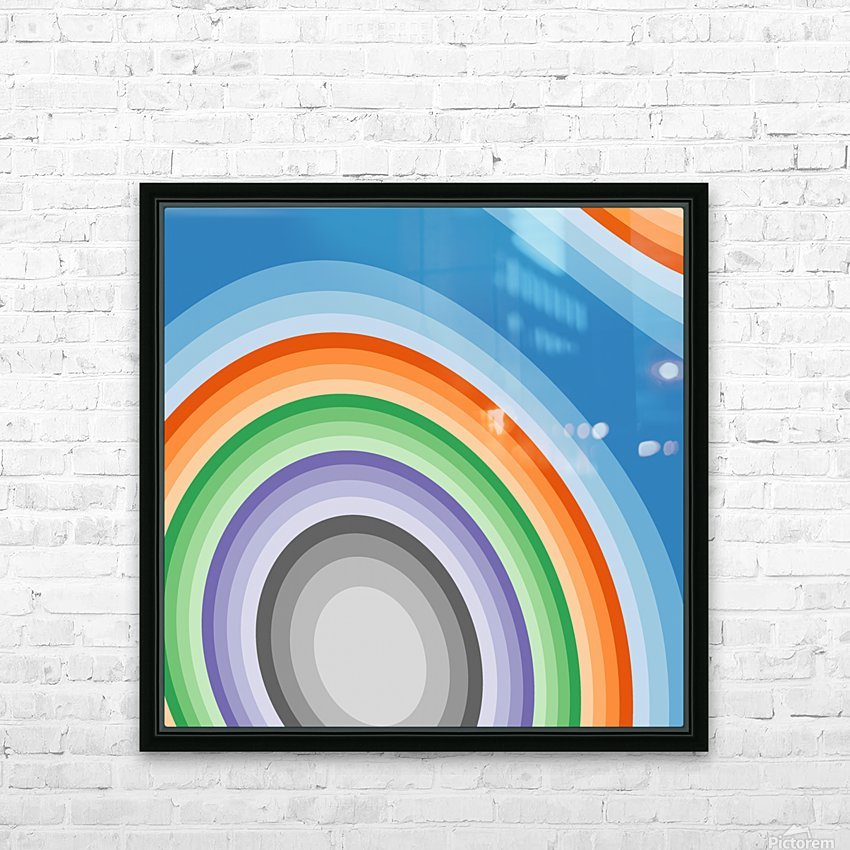 Abstract art (7)_1558001570.36 HD Sublimation Metal print with Decorating Float Frame (BOX)