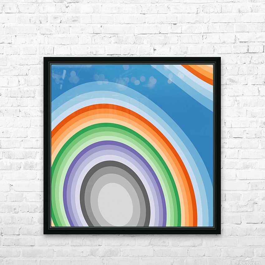 Abstract art (7)_1558001655.6173 HD Sublimation Metal print with Decorating Float Frame (BOX)