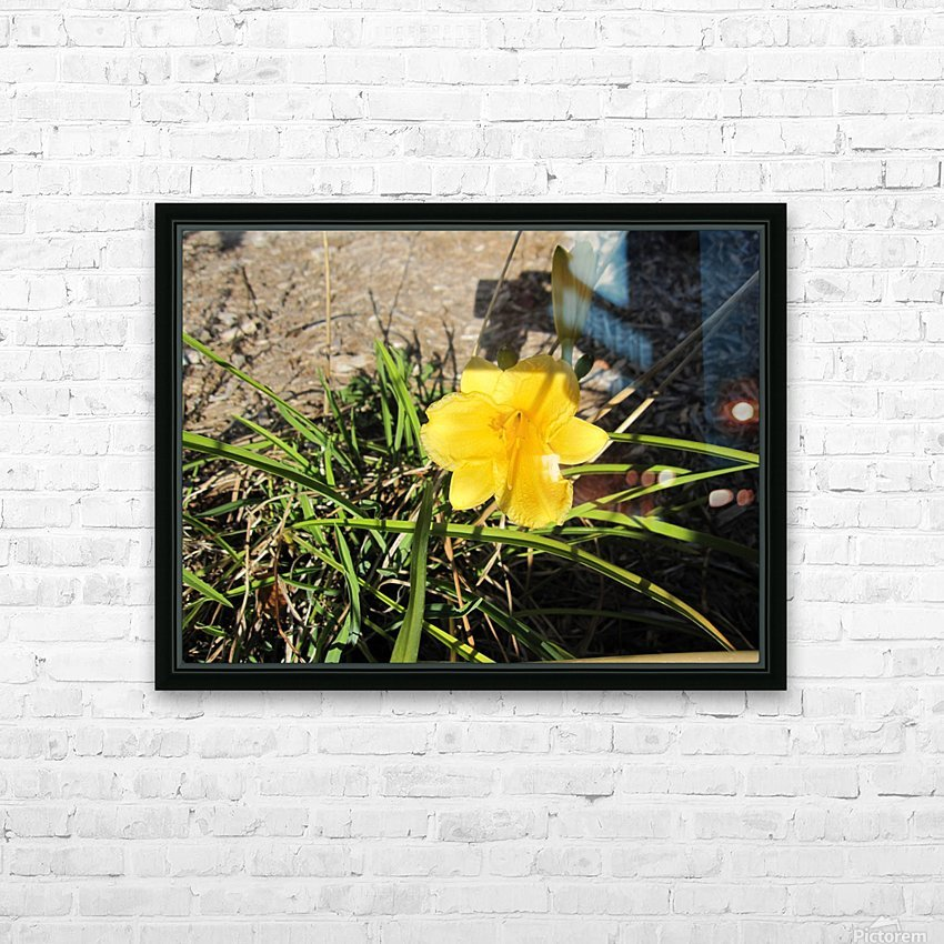 Flower (49) HD Sublimation Metal print with Decorating Float Frame (BOX)