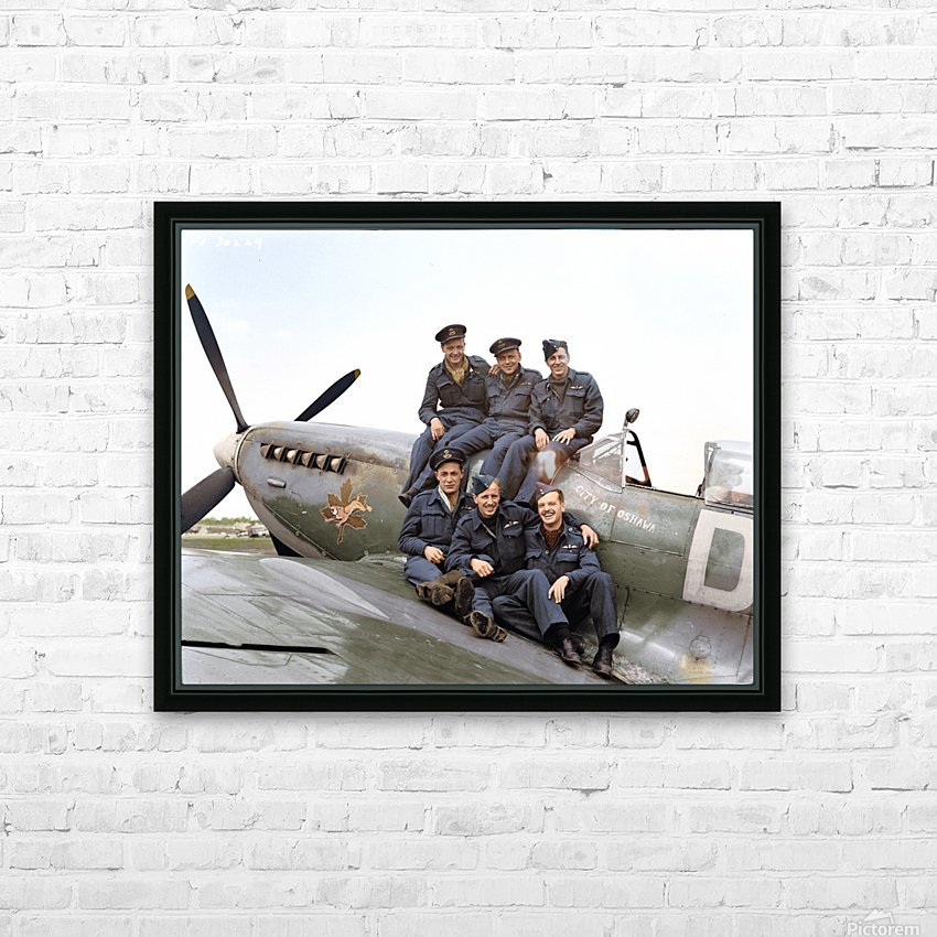 416 Squadron RCAF HD Sublimation Metal print with Decorating Float Frame (BOX)
