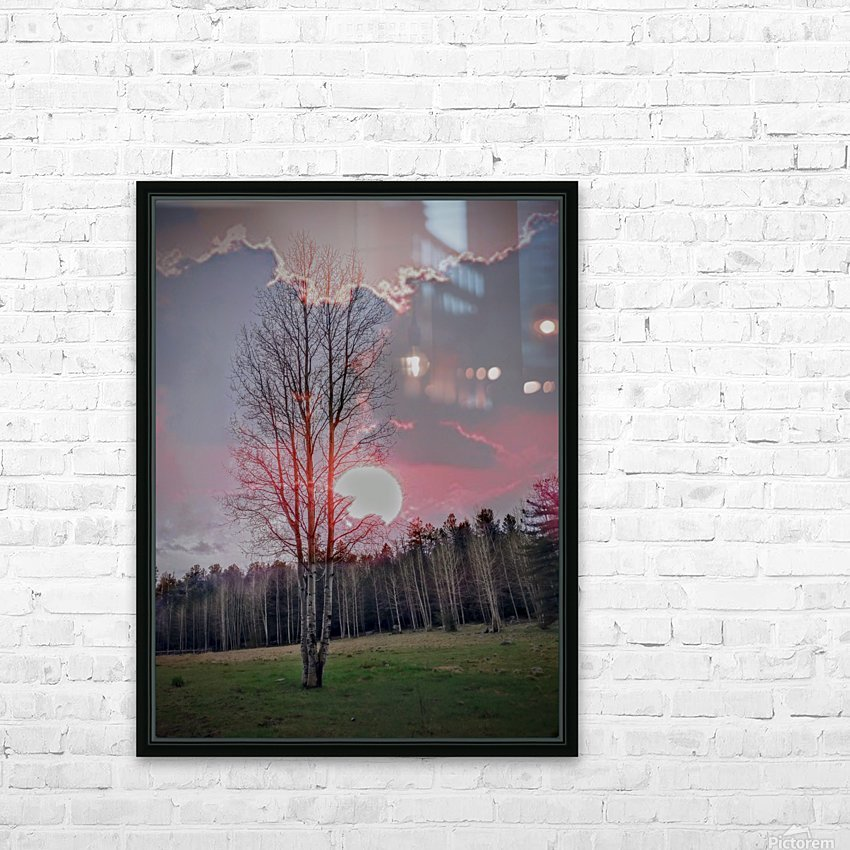 ASPEN in May HD Sublimation Metal print with Decorating Float Frame (BOX)