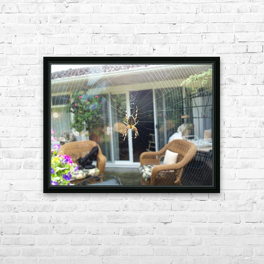 Spider HD Sublimation Metal print with Decorating Float Frame (BOX)
