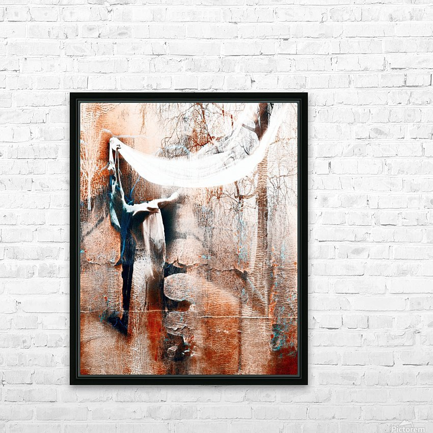Dancer in the forest HD Sublimation Metal print with Decorating Float Frame (BOX)