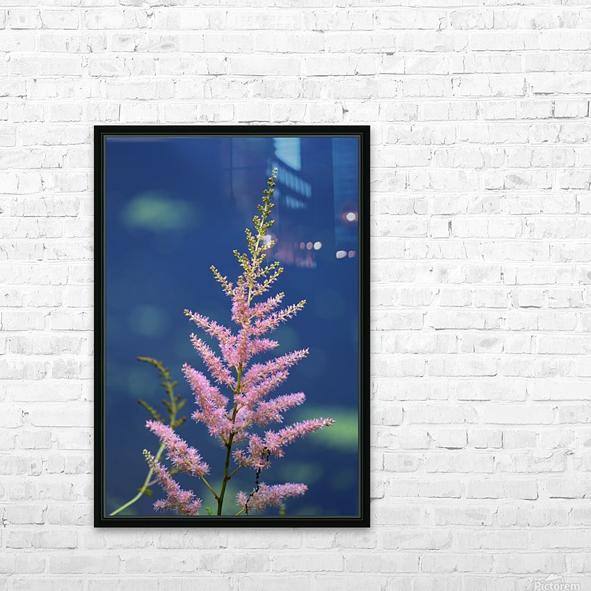 Pink Floral Dow Gardens 2 062718 HD Sublimation Metal print with Decorating Float Frame (BOX)
