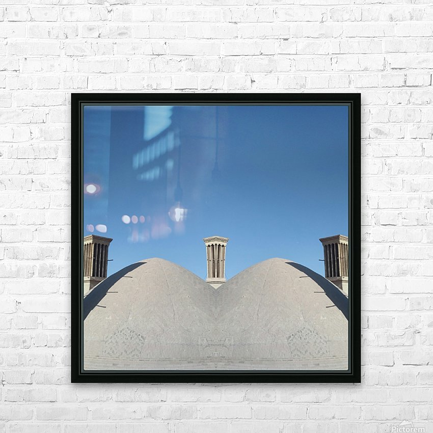 In Between HD Sublimation Metal print with Decorating Float Frame (BOX)