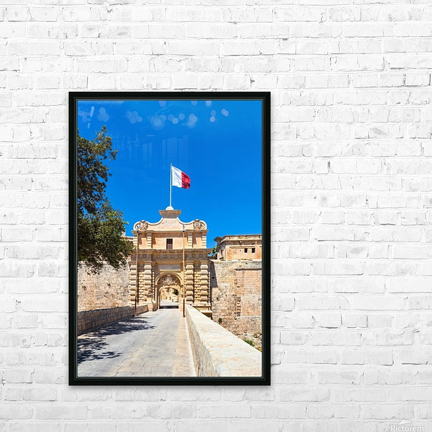 MALTA 06 HD Sublimation Metal print with Decorating Float Frame (BOX)